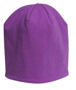 Print Hat Short Lila